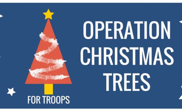 Operation Christmas Trees for Troops